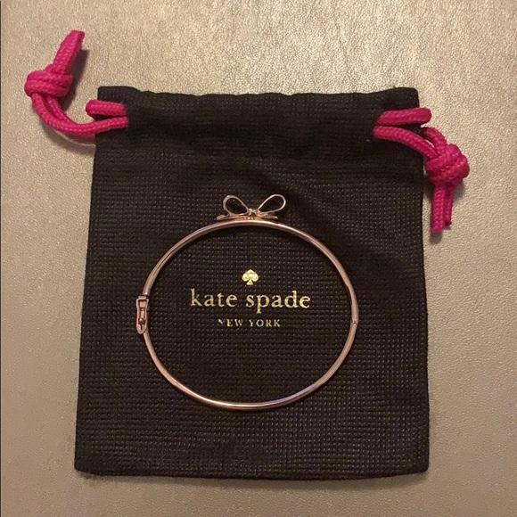 Kate spade Love Notes Bangle Bow Bracelet